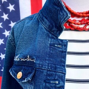 A New Day Jean Jacket for Veterans Day